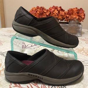 Merrell Espresso Slip On Shoes Size 7.5